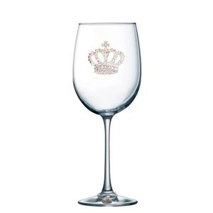 The Queen's Jewels princess crown glassware